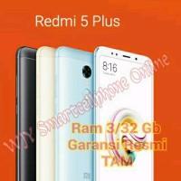 Xiaomi Redmi 5 Plus TAM Garansi Resmi Snapdragon Ram 3 Gb Internal 32