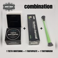 Charcoal Whitening Teeth 3in1   Teeth Whitening Charcoal   Carbon Coco