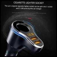 Car Phone Charger - Charger Mobil Dual USB Cigarette Lighter Port