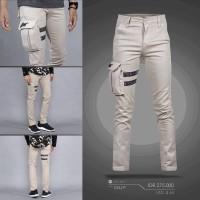 Celana cargo ninja pants onstreet khaki - cino - cargo slimfit panjang