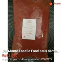 Del Monte Lasalle Food saus sambal, chili sauce, 1 kg #saussambal #s