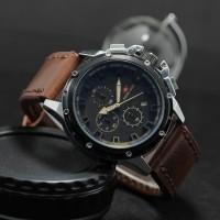 Jam tangan Pria Jam tangan swis army crono stainless kulit
