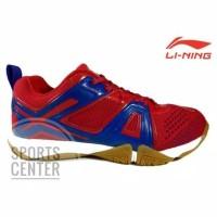Sepatu Badminton Lining Omega AYTM087 / AYTM 087 Red