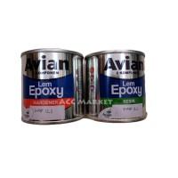 Lem Epoxy Avian 340 Gram E Poxy Kayu Besi Logam Kaca Logam Glass Wood