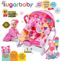 MUCH Bouncer 10 in 1 Premium Rocker Sugar Baby
