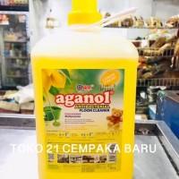 Aganol LEMON 3.7 LITER | Pembersih Lantai Yuri Aganol Literan 3.7Liter