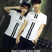 kaos couple | kaos kembar | kaos pasangan | lines couple | tshirt