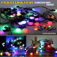 Lampu Natal Led Hias Bulat Bola anggur kecil gantung / lampu Tmblr