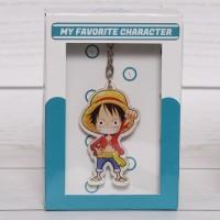 Gantungan Kunci Multifungsi Anime One Piece karakter Luffy D