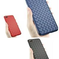 casing case iphone 7 plus weave wovun TPU soft case