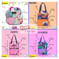 gabag ceri nuri lavender gendis tas asi cooler bag small pop series