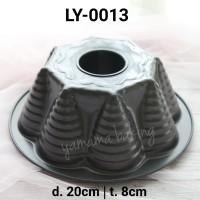 LY-0013 Loyang teflon mawar import chiffon marble cake pudding