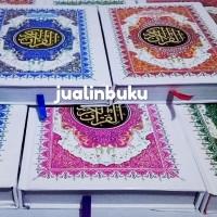Al Quran Murah Cover Putih Kertas CD ukuran A5 non Terjemahan