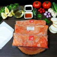 Tetelan Salmon / Salmon Scrape Meat 500 gram