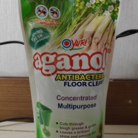 Yuri Aganol Floor Cleaner Morning Fresh With Lemon Grass 630 ML