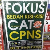 BUKU FOKUS BEDAH KISI KISI CAT CPNS + CD - ARIF SUBKHAN
