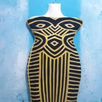 Mini Dress HL Kemben Premium/Herve Leger