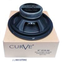 speaker 8 inch woofer Curve 100Watt 818-W