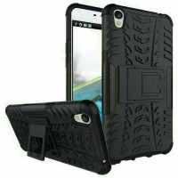 Case Rugged Oppo Neo 9 A37 -Softhard Back Kick Stand Hybrid Armor Slim