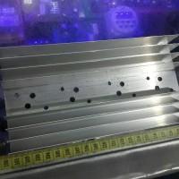 Plat Heatsink Aluminium 20cm Tipis TR Jengkol