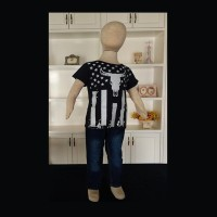 Setelan Baju 2 Kaos Dan Jeans Anak-Anak Buffalo ZH-KFC003