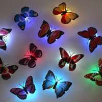 Lampu Hias Kupu Kupu Mini LED Light Kamar Tidur Lucu Murah