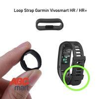 Loop Strap Garmin Vivosmart HR Rubber holder - kolong karet tali jam