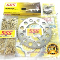 Gear set SSS KLX 150 / D tracker Termurah
