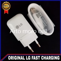 Charger LG G6 G6 Plus ORIGINAL 100% Fast Charging USB Type C