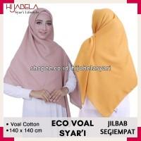 Hijab Segi Empat Saudia Syar'i by Umama Scarf Seri 40 Warna - WARNA DI NOTE