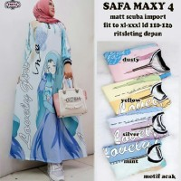 Safa maxy 4. Dress cantik terlaris. Dress maxy by freya
