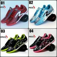 Sepatu Futsal pria Specs grade orie Lokal 4 varian Bonus kaos kaki