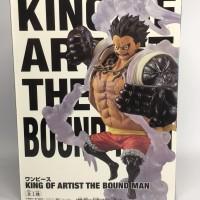 Banpresto King Of Artist The Bound Man Luffy Gear 4th NEW KWS MIB