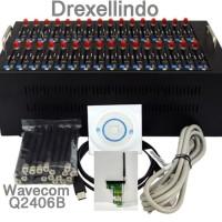 Spesial Modem Pool 32 Port USB WAVECOM Q2406B