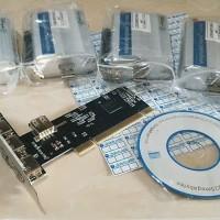 Spesial PAKET 4pcs Modem Wavecom 1306B Q2406B USB 1 PCI USB 4 Port NE