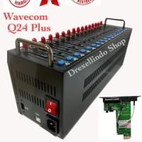 Spesial modem pool 16 port usb q24 q24 plus wavecom