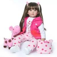Boneka Reborn NPK Baju Jerapah