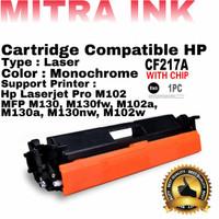 Toner Cartridge Hp 17A / CF217A - Hp M102/M130 Compatible +Chip