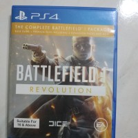 BATTLEFIELD 1 kaset BD PS4 (2nd) sold