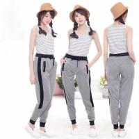 celana panjang wanita joger pants Training Celana Cewek Olahraga Slim