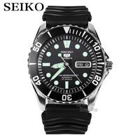 Seiko 5 Sports Automatic Men's Watch Pepsi Bezel Submariner Automatic