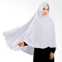 Murah Hijab Khimar Jumbo Pet Jilbab Syar'i Pinguin Wolfis