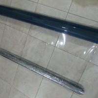 Plastik mika lentur pvc bening ketebalan 0.25mm permeter