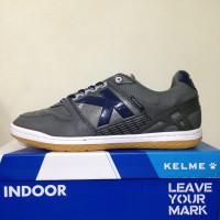 Sepatu Futsal Kelme Intense Dark Grey 55781702 Original BNIB Terbaru