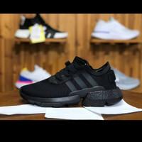 Adidas Pod Triple Black Premium Original/Terbaru/Sport/Sneakers/Sepatu
