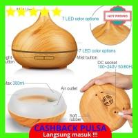 [BEST QUALITY] 300 Ml Air Humidifier Minyak Esensial Diffuser Lampu