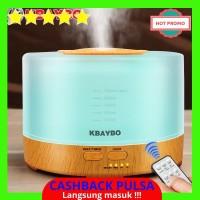 [BEST QUALITY] Kbaybo 500 Ml Ultrasonic Air Humidifier LED Lampu