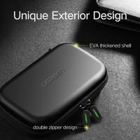 Tas Gadget Earphone Power Bank - UGREEN Travel Organizer Bag 180mm