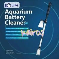 TOPKA Aquarium Battery Cleaner Vaccum Pembersih Aquarium