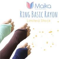 MAIKARayon Ring Basic / Manset Cincin (Tanpa Renda)/ 2nd Grade Maera